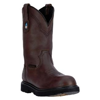 "McRae Industrial 11"" Wellington WP Dark Brown"