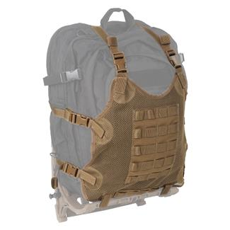 Sandpiper of California Mesh Cargo Carrier Coyote Brown
