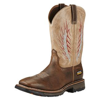 Ariat Workhog Mesteno II CT Rustic Brown