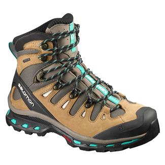 Salomon Quest 4D 2 GTX Shrew / Camel Gold LTR / Teal Blue F