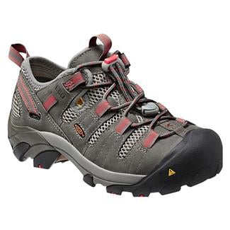 Keen Utility Atlanta Cool ESD WP Gargoyle / Hot Coral