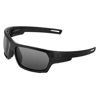 Under Armour Battlewrap Satin Black (frame) - Gray Polarized (lens)