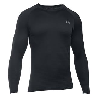 Under Armour ColdGear Crew Base 2.0 Black / Battleship / School Bus