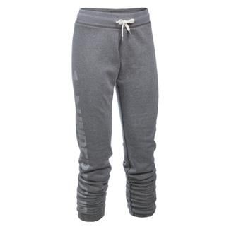 Under Armour ColdGear Favorite Fleece Pants Carbon Heather / White