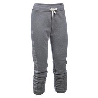 Under Armour ColdGear Favorite Fleece Pants Carbon Heather / White