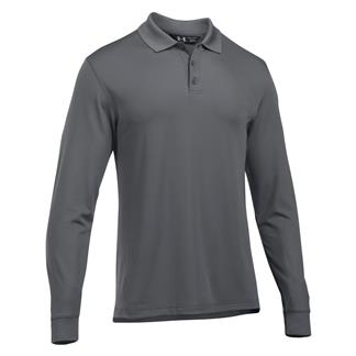 Under Armour Long Sleeve Performance Polo Graphite / Graphite