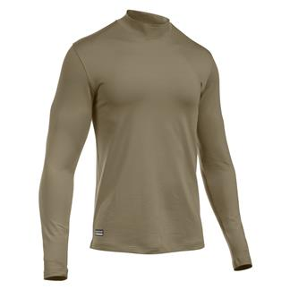 Under Armour Tactical ColdGear Mock Shirt Army Tan