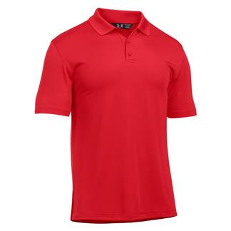 Under Armour Tactical Performance Polo Red / Red
