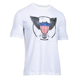 Under Armour USA Eagle T-Shirt White / Black