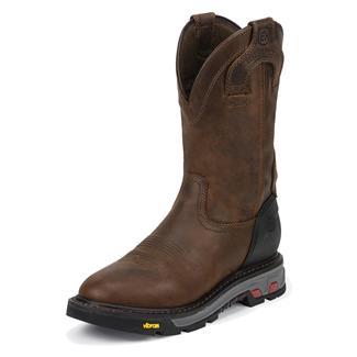 """Justin Original Work Boots 11"""" Mechanic Round Toe WP Wyoming"""