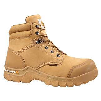 "Carhartt 6"" Rugged Flex WP Wheat Nubuck"