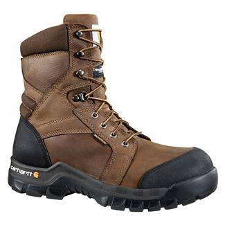 "Carhartt 8"" Rugged Flex 400G WP Dark Bison Brown"