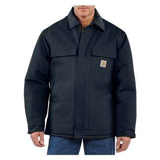Carhartt Duck Traditional Coat Dark Navy