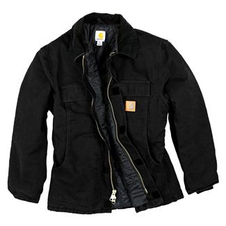 Carhartt Sandstone Traditional Coat Black
