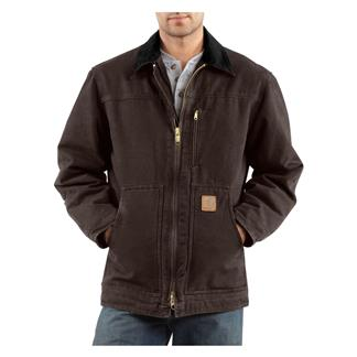 Carhartt Ridge Coat Dark Brown