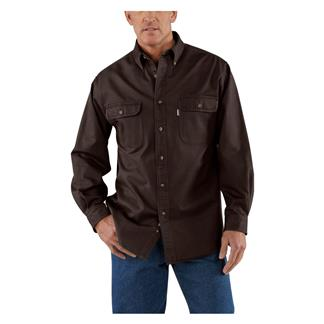 Carhartt Oakman Work Shirt Dark Brown