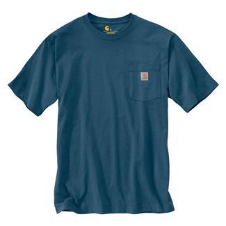 Carhartt Workwear Pocket T-Shirt Stream Blue