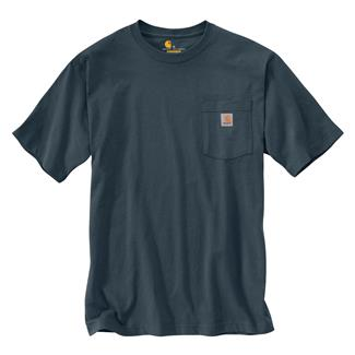 Carhartt Workwear Pocket T-Shirt Bluestone