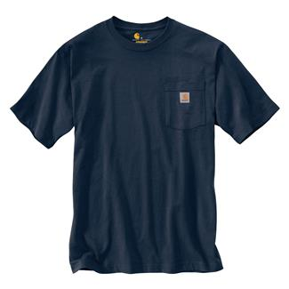 Carhartt Workwear Pocket T-Shirt Navy
