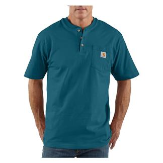 Carhartt Workwear Pocket Henley Stream Blue