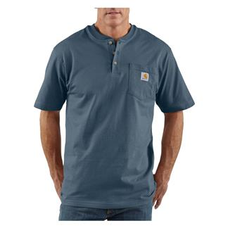 Carhartt Workwear Pocket Henley Bluestone