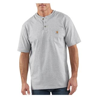 Carhartt Workwear Pocket Henley Heather Gray