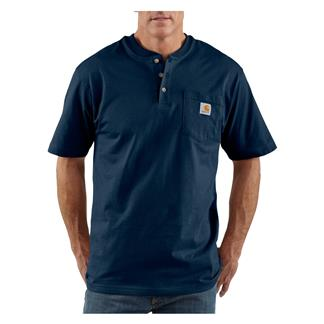 Carhartt Workwear Pocket Henley Navy