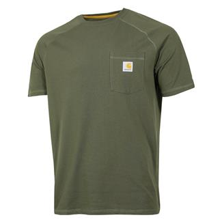Carhartt Force Delmont T-Shirt Moss