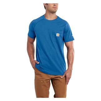 Carhartt Force Delmont T-Shirt Cool Blue