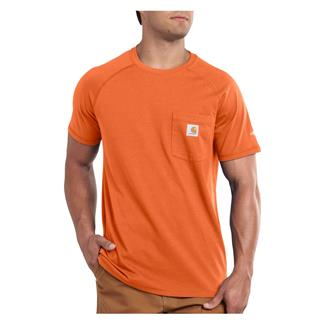 Carhartt Force Delmont T-Shirt Orange