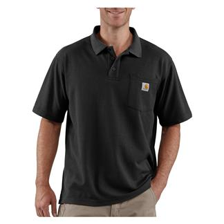 Carhartt Contractor's Work Polo Black