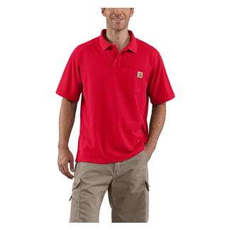 Carhartt Contractor's Work Polo Red