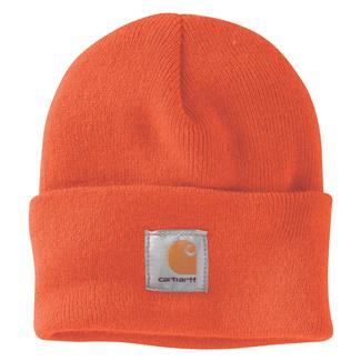 Carhartt Acrylic Watch Hat Brite Orange