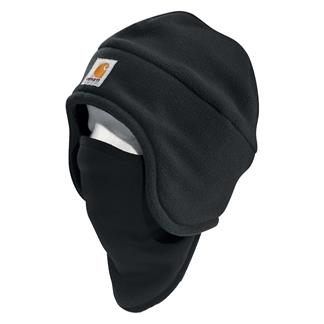 Carhartt 2 In 1 Fleece Headwear Black