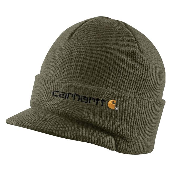 dc4a294ad417a Men s Carhartt Knit Hat With Visor