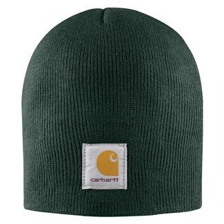 Carhartt Acrylic Knit Hat Dark Green