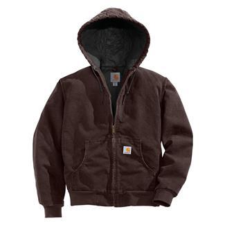 Carhartt Sandstone Active Jacket Dark Brown