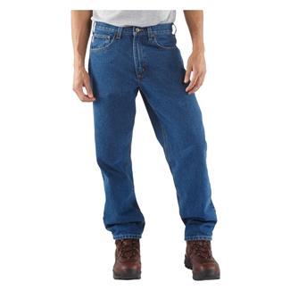 Carhartt Relaxed Fit Tapered Leg Jeans Darkstone