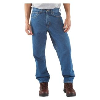 Carhartt Relaxed Fit Tapered Leg Jeans Stonewash