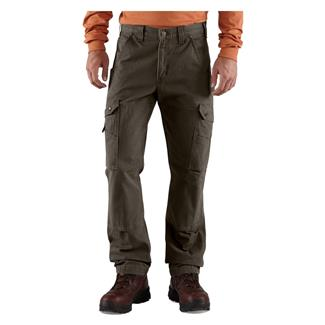 Carhartt Ripstop Cargo Work Pants Dark Coffee