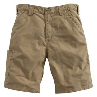 Carhartt Canvas Work Shorts Dark Khaki
