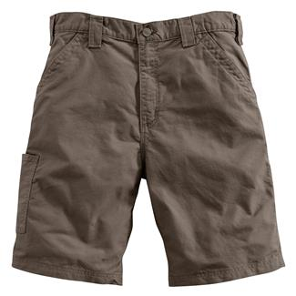 Carhartt Canvas Work Shorts Light Brown