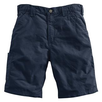 Carhartt Canvas Work Shorts Navy