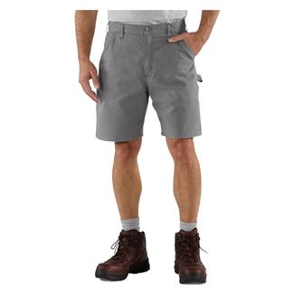 Carhartt Canvas Utility Work Shorts Asphalt