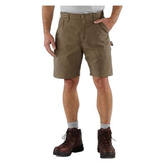 Carhartt Canvas Utility Work Shorts Light Brown