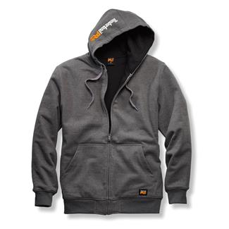 Timberland PRO Double Duty Full Zip Sweatshirt Charcoal Heather