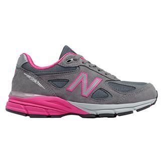 New Balance 990v4 Gray / Pink