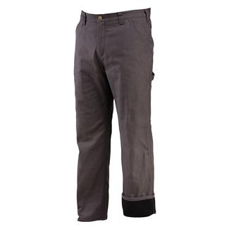 Wolverine Fleece Lined Hammer Loop Pants Charcoal