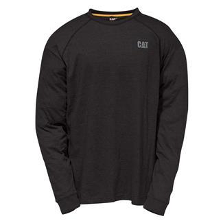 CAT Long Sleeve Preformance T-Shirt Black