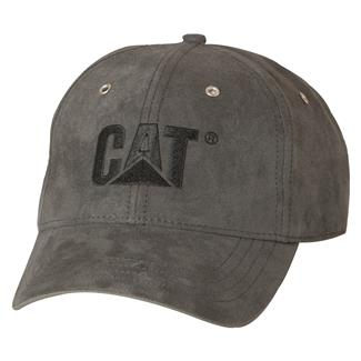 CAT Trademark Microsuede Cap Graphite